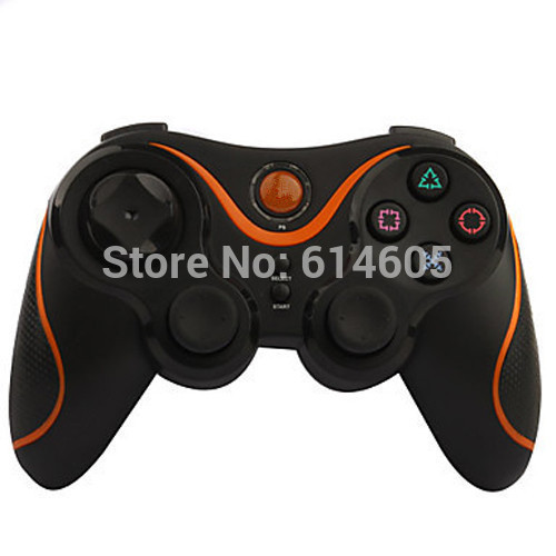 Orange Wireless Bluetooth Sixaxis Controller for Sony PS3 Console Game(China (Mainland))