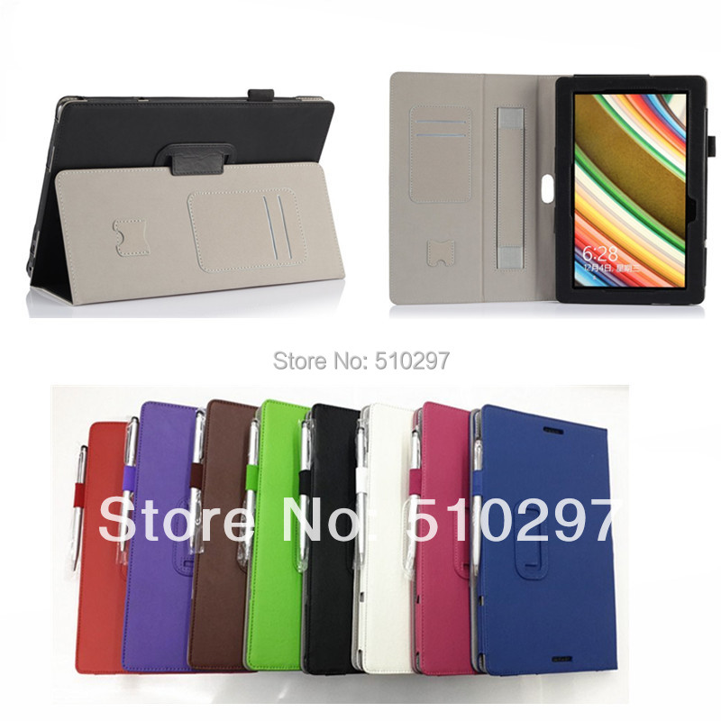 High Quality Hand Strap PU Leather Case Skin For ASUS Transformer Book T100 T100TA+Pen(China (Mainland))