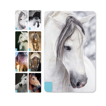 In the running horse Pattern Power Bank External Battery Portable Charger Internal Cable