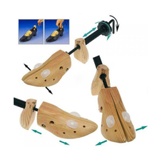 Professional Useful Lady High Heel Shoes Tree Wooden Stretcher Support Shaper Free Shipping