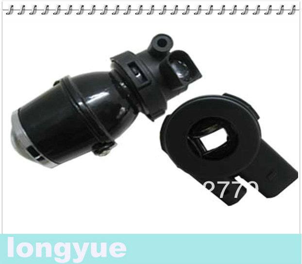 universal fog lamp projector lens car headlight + H3 hid xenon bulbs ballasts LY-2008