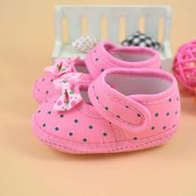 high quality baby girl shoes Bowknot Boots Soft Crib Toddler  Shoes children footwear kids booties for newborns first walker