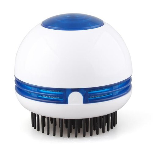 3 Sets of Electric Hair Scalp Head Massager Vibrating Comb Brush Round White(China (Mainland))