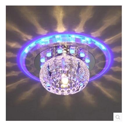 Luminaria Modern LED Corridor Crystal Ceiling Lights Living Room Luminarias Para Sala De Jantar Decor Lustres Lamp - credit200 store