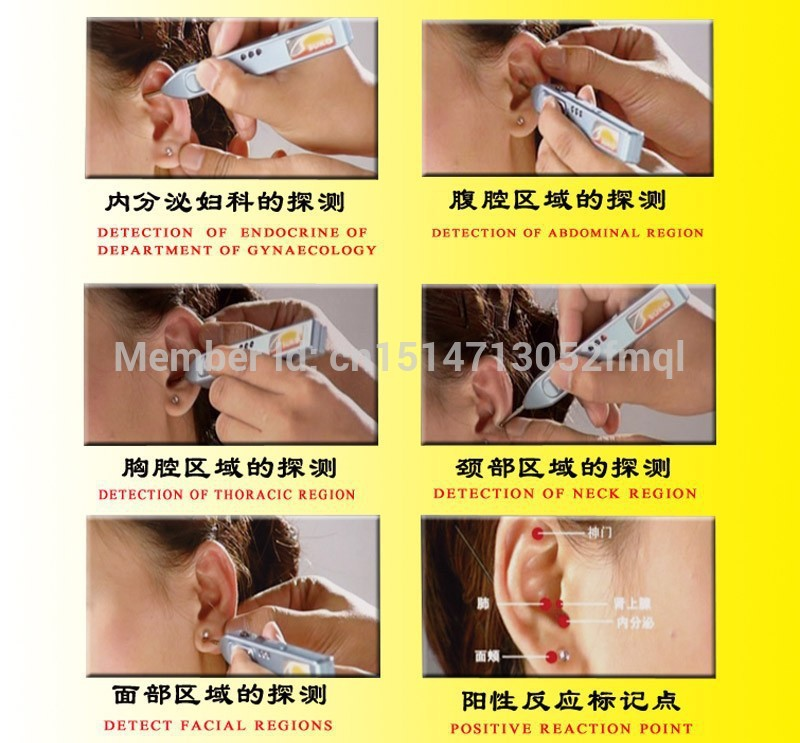 Hot sale Detector ear detection pen Ear Detector Acupuncture Pen Ear Acupoint Diagnosis for ear auriculotherapy