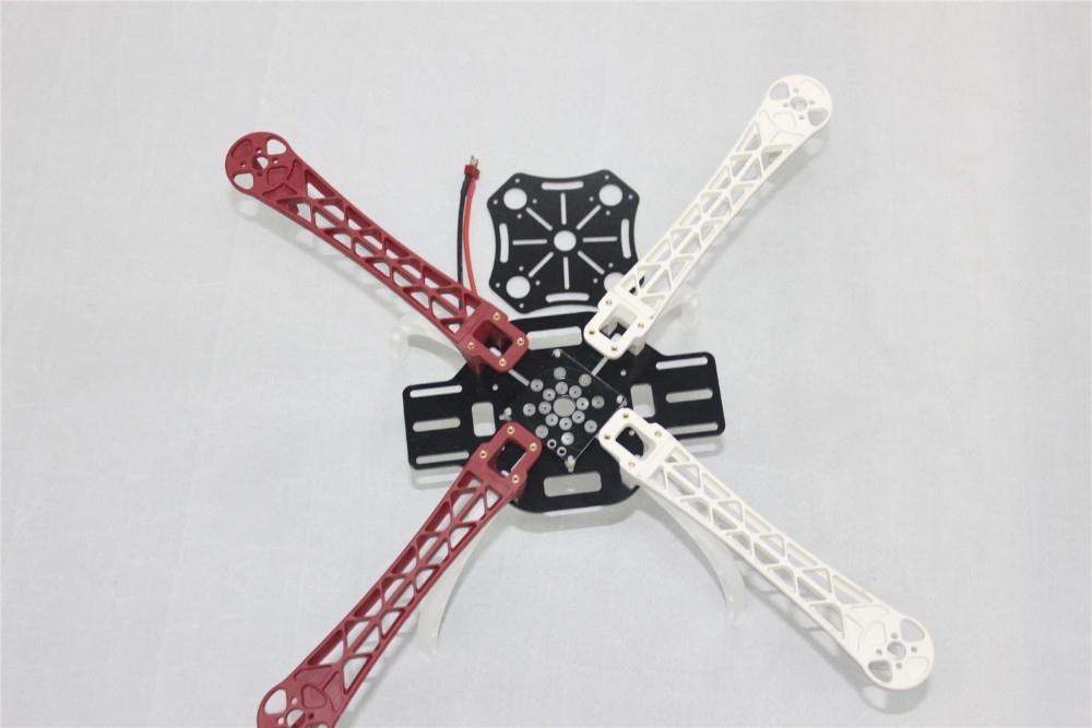 F07468-B Drone F450 FlameWheel KIT+ High Landing Gear + T Plug Male Connector +