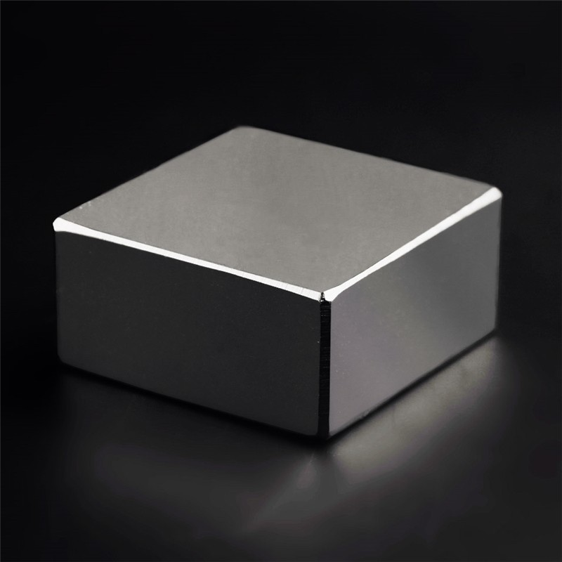 N52 Rare Earth Neodymium Super Strong Permanent NiCuNi Electroplating Cuboid Block Magnet (Best NdFeB Alloy, 48x48x23mm)(China (Mainland))