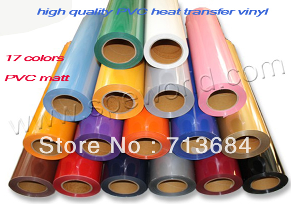 PVC Vinyl from Korea, PVC heat transfer film(China (Mainland))