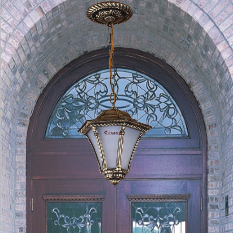 Europe iron vintage pendant light single light balcony small  fashion vintage wrought iron lamp <br><br>Aliexpress
