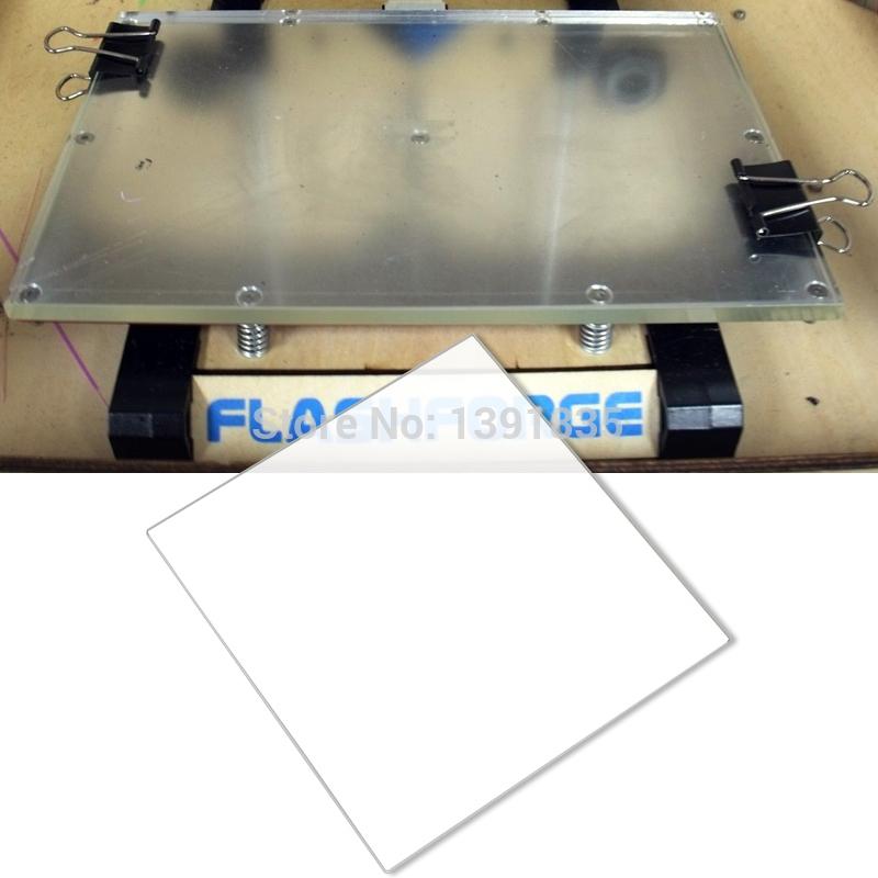 X Mm Borosilicate Glass Build Plate