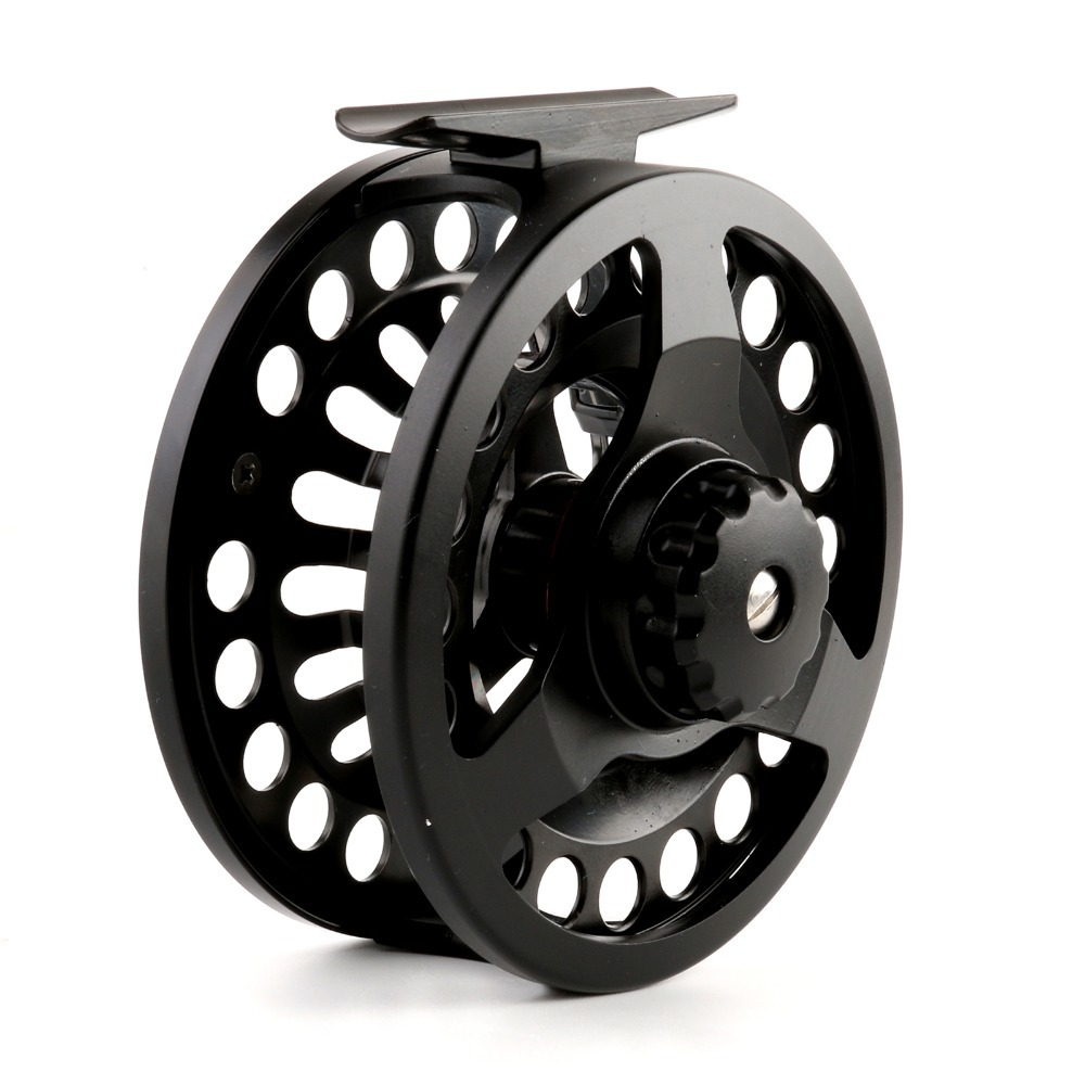 Fly fishing reel dm 7 8wt die casting large arbor chinese for Chinese fishing reels
