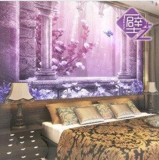 Shipping! Mural sofa tv wall background wall decoration wallpaper dream fashion KITCHEN(China (Mainland))