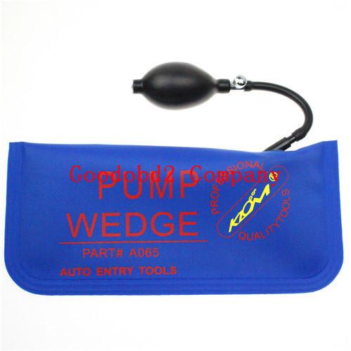 100 KLOM Big Size Blue Air wedge Pump Wedge Locksmith Tools Car Door Opener Auto Entry