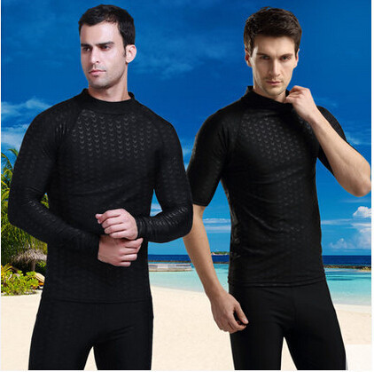 Sbart 2015 New Sharkskin Men Scuba Diving Wet Suit Triathlon Suit Kitesurfing Suit Diving Equipment For Spearfishing Rashguard H(China (Mainland))