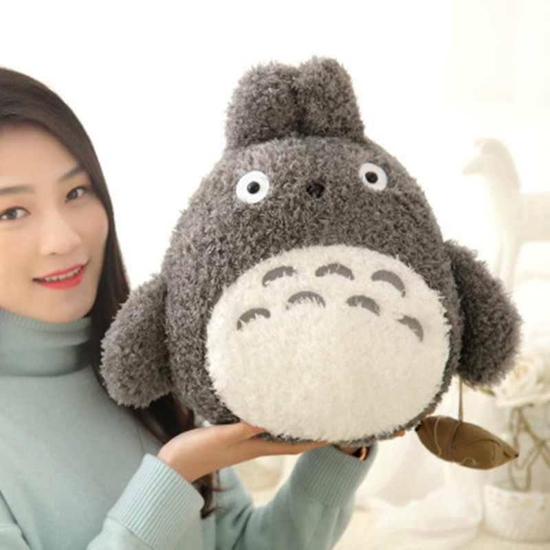 1pcs 20CM Famous Cartoon Lovely Totoro Plush Toy Smiling Soft Stuffed Toys High Quality Dolls Factory Price home decoration gift(China (Mainland))