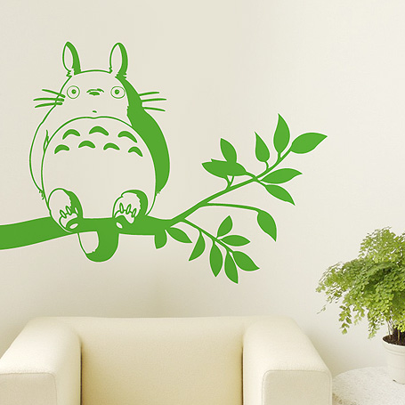 totoro wall sticker images totoro wall sticker images