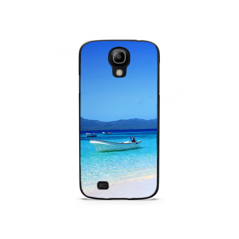 Boat Shore Tropical Island Waters Plastic Protective Shell Skin Bag Case For Galaxy S6plus S3/S4/S5 mini Cases Hard Back Cover(China (Mainland))