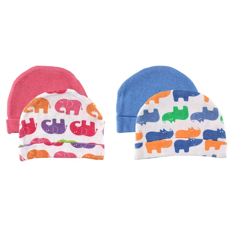 2015 Special Offer Rushed Unisex Cotton 0-3 Months 4-6 Months Fitted Solid Baby Newborn Cap,infant Caps, 2 Pack, 0-3 Months(China (Mainland))