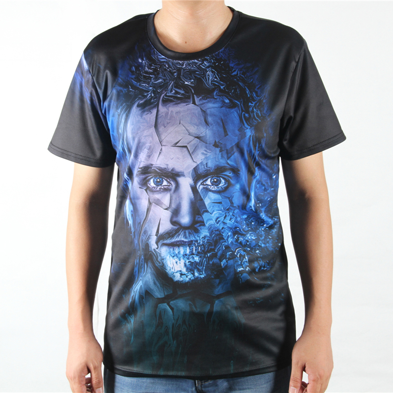 Heisenberg printed t shirts summer style movie breaking for Custom fashion t shirts