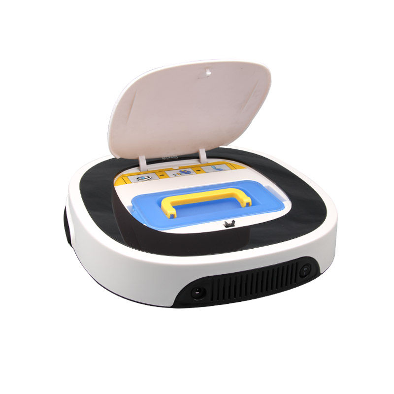 New D5501 smart Wet and Dry Mop white Robot Vacuum Cleaner 5 cleaning modes household cleaning cordless bagless vacuum cleaner(China (Mainland))