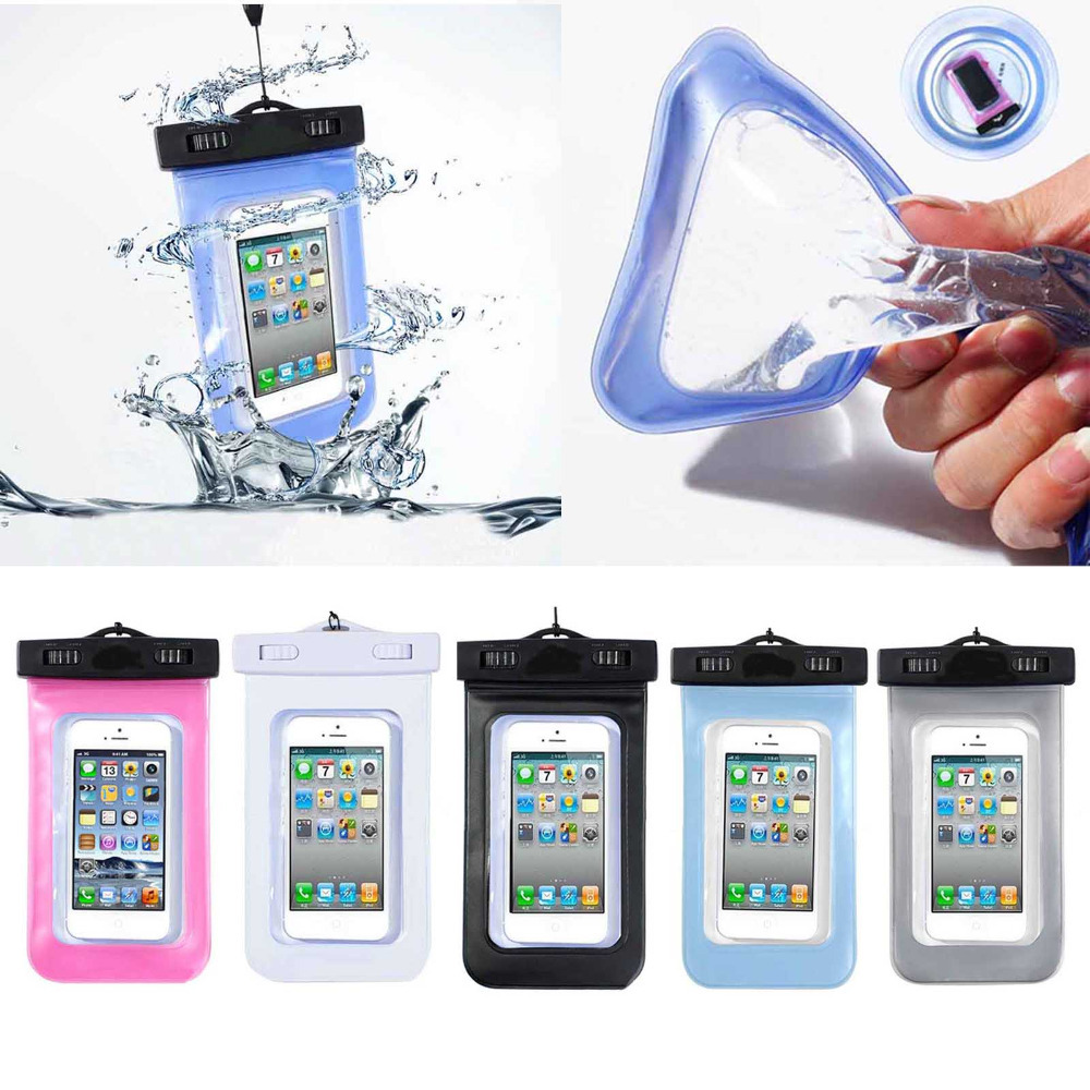 PVC Durable Waterproof Phone Cases Underwater Phone Bag Pouch Dry For Iphone 4/5S/6 For Samsung S2/S3 100% Sealed Wholesale(China (Mainland))