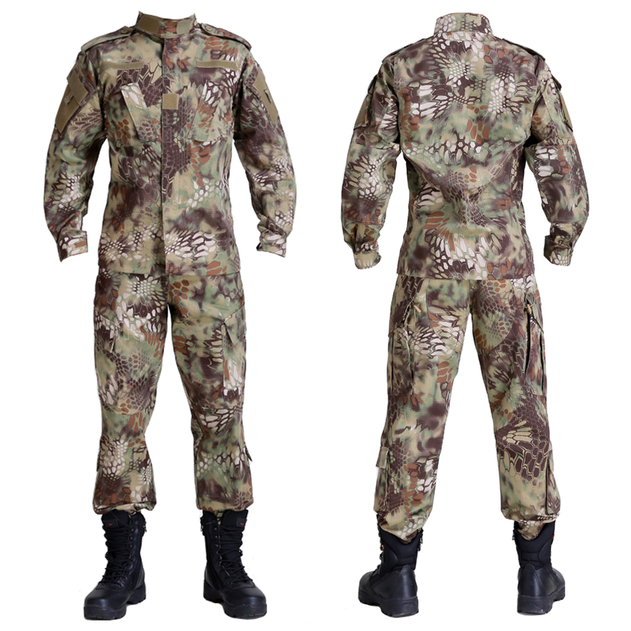 Camouflage Military equipment hunting clothes airsoft paintball war game tactical gear army Python pattern camouflage hunting Одежда и ак�е��уары<br><br><br>Aliexpress