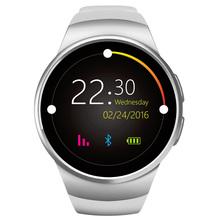 Buy Kingwear KW18 Sport Smart Watch Heart Rate IPS Screen bluetooth smartwatch Fitness Tracker App Apple IOS Android phone for $40.66 in AliExpress store