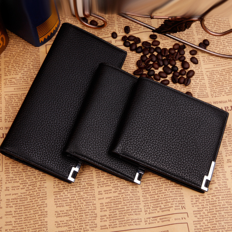 New Fashion Men Business Wallets PU Leather Long Manufacturer Wallet Card Holder Bag Money Professional Man Purse(China (Mainland))