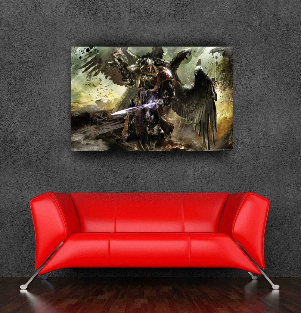 2014 best selling warhammer 40k posters wall sticker for Decor 40k