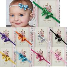 Baby Toddler Infant Bling Bowknot Headbands Hair Band Bow Cute Soft Fabric Lovely headband for baby