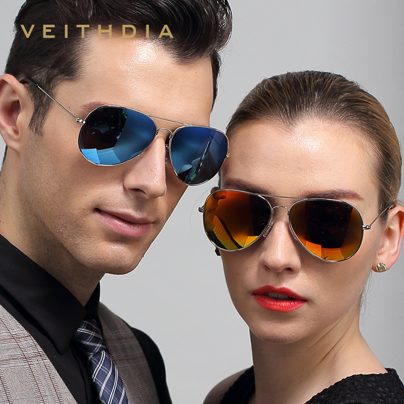 3026 Veithdia Sunglasses Mens So Real Polarized Sun Glasses Oculos Uomo Gafas Sol Occhiali Da Sole Tinize Retro Sport Sunglass(China (Mainland))