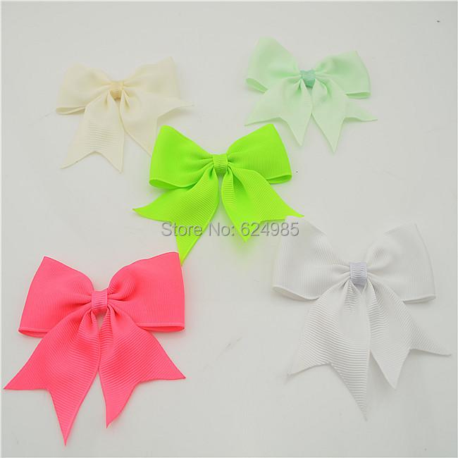 2014 5 baby DIY grosgrain ribbon bow Girl wheel Hair Bow Baby Boutique bows hair dress wedding accessories - Anna $10 store