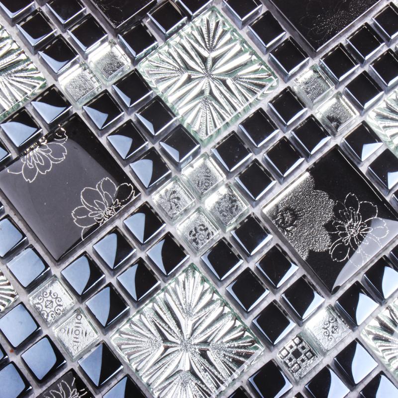 Aliexpress.com : acquista disegno mosaico di arte nero misto di ...