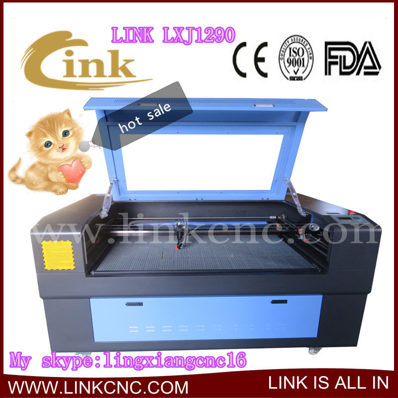 LXJ1290!!! Made in china ! Factory price stainless steel laser cutting machine(China (Mainland))