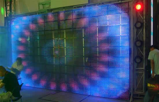 High Quality Outdoor IP65 Waterproof Grid LED Display P31.25 1R1PG1PB IC MBI5024 for Outside Large Building LED Video Wall(China (Mainland))