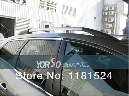 High quality aluminum Decorative Roof Rack Side Rails Bars for Mazda CX-7 CX7 2007- 2012(China (Mainland))