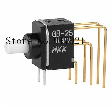 [ZOB] GB25AV imported from Japan nkk day open GB25AH miniature push button switch GB15AH-XB waterproof seal --20PCS/LOT<br><br>Aliexpress