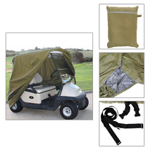 4- Passenger Waterproof Golf Cart Cover Fit for Yamaha EZ Go Club Car Golf Cart Cart Storage Car Styling Covers Size S M L(China (Mainland))