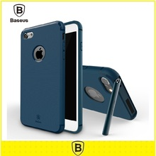 Original Baseus For Iphone 7/7 Plus Case Hermit Bracket PC+TPU Back Mobile Phone Bags Case for iphone 7/7 plus Back Cover