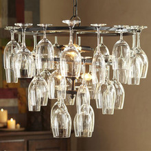 Free shipping New arrival Wine glass chandeliers for dinning room bar hotel decor E14 110-240V(China (Mainland))