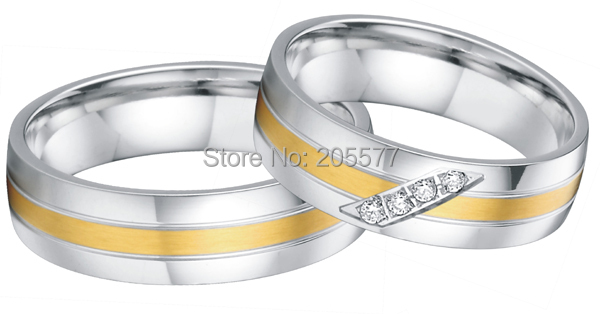 custom made western European style His and Hers Matching wedding couples Rings sets<br><br>Aliexpress