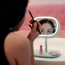 Muid Rechargeable type LED  Desk lamp serves as makeup mirror Bedroom Multi-Function mirrors WK249(China (Mainland))