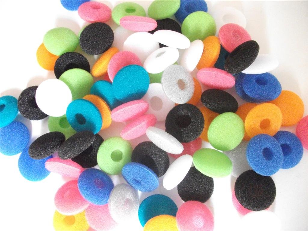 Colourful ear cushion/Replacement foam earbud covers /18mm ear cushions/2000pcs free shipping via dhl<br><br>Aliexpress