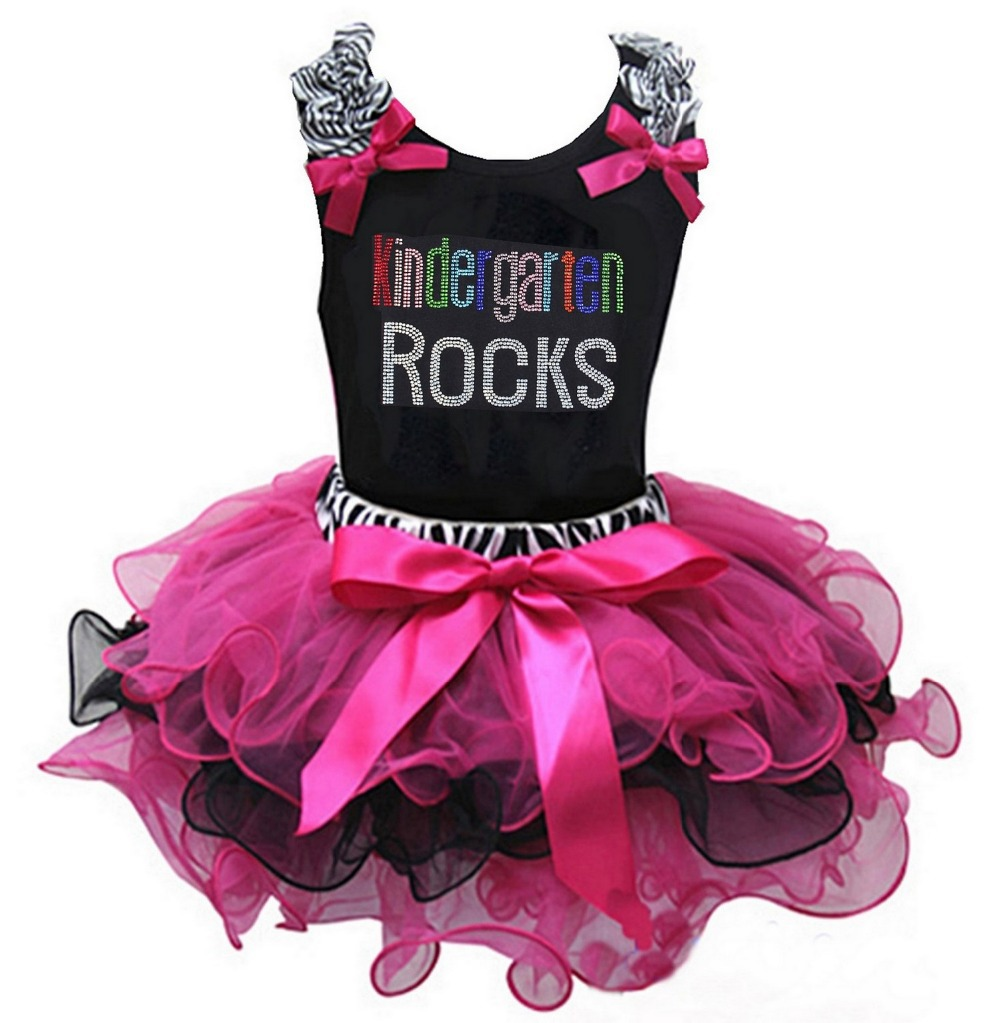 Hot Pink Zebra Dresses