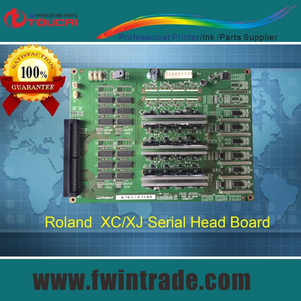 100% warrantee original Roland head board model 6700731100 Roland XC540 printhead board(China (Mainland))