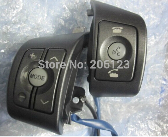 Toyota RAV4/Yaris High quality original Steering wheel Audio,channel and bluetooth control button<br><br>Aliexpress