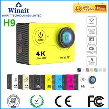 Buy 12MP waterproof action camera wifi sports digital video camera/super 4k high camera free for $54.99 in AliExpress store