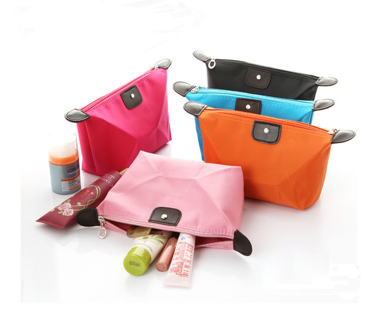 F00181 1Piece Lady Waterproof Cosmetic Bag Woman Travel Portable Makeup Pouch Pencil Case Clutch Toiletries Storage Bag(China (Mainland))