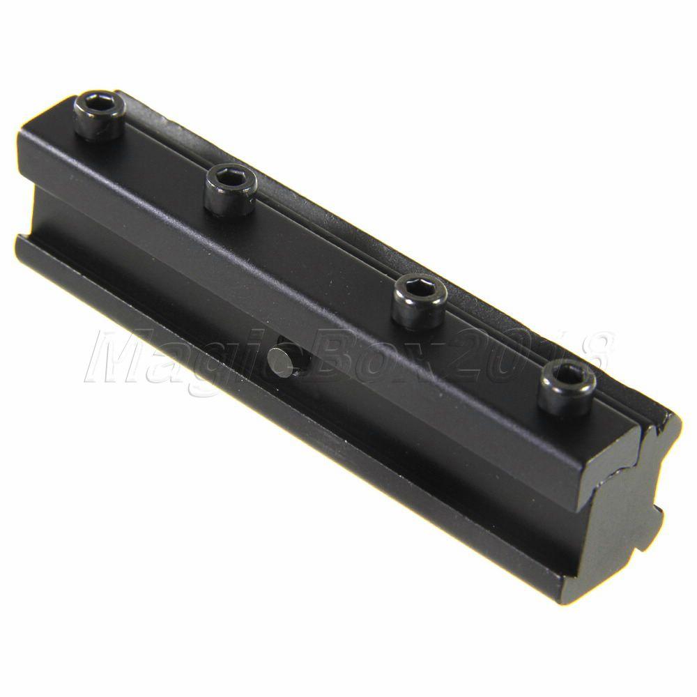 Установка оптического прицела New Brand 11 20 3/8 To 7/8 Dovetail Rail Weaver Adapter