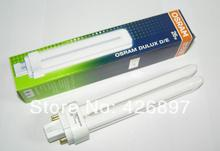 Osram DULUX D / E 26 W lámpara fluorescente compacta tubo, LUMILUX G24q-3 4 pins, 26 W / 827,26 W / 840,26 W / 865, downlights plug in bulbo dimmable(China (Mainland))